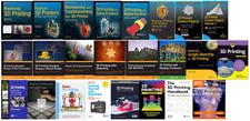 3D Printer/Printing book library collection/bundle [24 books] LATEST!!