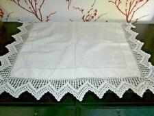 Tablecloths Crochet/Knit Antique Table Linens