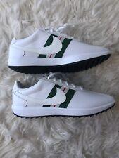 """Women's Nike Cortez Golf Shoes """"White Gorge Green� Ci1670-102 Size 8.5"""