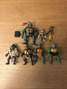 Vintage Retro Teenage Mutant Ninja Turtles Job Lot TMNT Figures