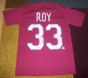 VINTAGE-STYLE Authentic PATRICK ROY Colorado Avalanche THROWBACK JERSEY Shirt S