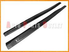 Carbon Fiber Side Skirt Lip Fit For 07-13 BMW E92 E93 328i 335i w/ M-Sport Pack