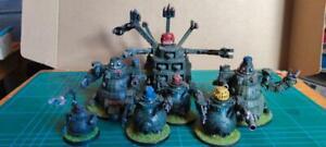 6mm Ork warbots Painted prototypes     Green Mek Slasher Great and Mega Gargants
