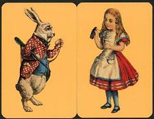 BEAUTIFUL VINTAGE ALICE IN WONDERLAND SWAP CARDS NEW CONDITION