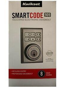 Kwikset Smart Code 909 Tochpad Keypad Electronic Deadbolt Lock Keyless Entry