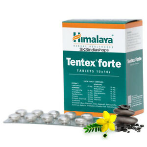 Himalaya Herbal Tentex Forte 100 Tablets | Multi Pack Offer | Free Shipping
