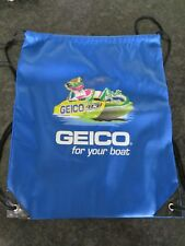 Geico for Your Boat Blue Logo Backpack - 14 x 17inch