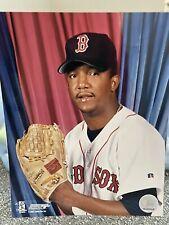 Boston Red Sox Pedro Martinez 8x10 Official MLB Licensed Photo