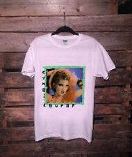 NEW RARE!! VINTAGE Cyndi Lauper Fun Tour 1984 shirt GILDAN TOP REPRINT USAsz