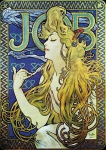 Alphonse Mucha - HUGE A1 59.4x84cm QUALITY Decor Canvas Print Poster Unframed