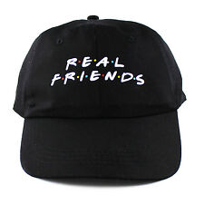 Real Friends 6 panel cap strapback polo dad hat 6 sad boys kanye yeezus NEW