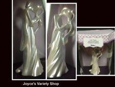 "Wilton Wedding Cake Topper Decoration Centerpiece 6.5"" White Pearl"