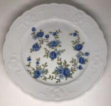 Lot De 10 Assiettes Porcelaine Signée WINTERLING BAVARIA D 20 Cm Décor Floral