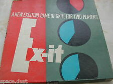 EXIT GAME - EX-IT GAME  - 1960'S ERA - 100% - VERY GOOD ORDER - STRATEGY GAME