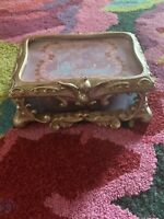 RARE Disney Cinderella Stained-Glass Jewelry Box Limited Edition 1500 RARE