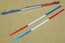 64 FAIRLANE 500 SPORT COUPE ROOF EMBLEM ORNAMENTS INSERTS AS NOS PAIR