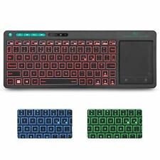 Rii K18 Plus 2.4G Wireless Keyboard with Touch Pad  Multimdeia RGB Backlit