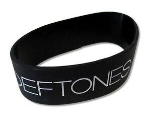 Deftones Koi No Yokan Black Silicone Wristband New Official Merch