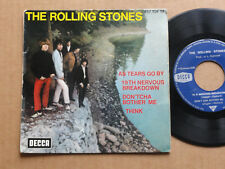 "DISQUE 45T THE ROLLING STONES  "" 19TH NERVOUS BREAKDOWN """