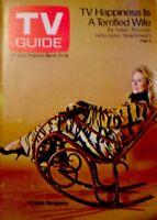 TV Guide 1969 Bewitched Elizabeth Montgomery Barbara Bain EX COA Rare
