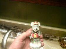 Vintage Chuck E Cheese Mouse Showbizz Pizza Time Theatre Ceramic Porcelain 1982