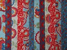 24 JELLY ROLL STRIPS 100% COTTON PATCHWORK FABRIC BLOOMSBURY 22 INCH LONG