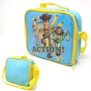 Disney Toy Story 4 Thermal Instulated Lunch Bag Kids School & Picnic