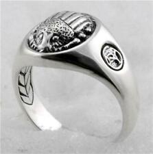 David Yurman Men's Scarab Sterling Silver Ring size 10