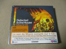 """COFFRET 3 CD NEUF """"DEFECTED IN THE HOUSE - MIAMI 08 (2008)"""