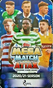 Topps Spfl Mega Match Attax 2020/2021 Livingston Card Choice 20/21