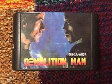 """""""Demolition Man"""" Sega Mega Drive/Genesis Game USED"""