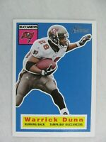 Warrick Dunn Tampa Bay Buccaneers 2001 Topps Heritage Football Card 10