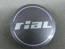 Original RIAL Nabenkappen N56 grau glänzend für Alufelgen Nabendeckel N 56