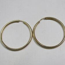 1 Paar Creolen 585 Gold = 2,7 g