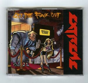 3 TRACK CD MAXI SINGLE EXTREME GET THE FUNK OUT