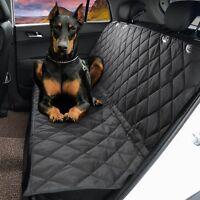 2018 2 IN 1 WATERPROOF CAR REAR BACK SEAT COVER PET DOG PROTECTOR BOOT MAT LINER