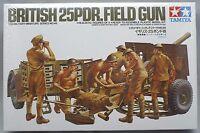 Tamiya   1:35  BRITISH 25-POUNDER FIELD GUN TAM35046