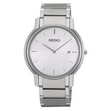 Runde Seiko Armbanduhren mit Datumsanzeige für Herren
