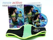 Zumba Fitness 2 inkl. Gürtel | Nintendo Wii Spiel | Sports Dance | Deutsch | #G