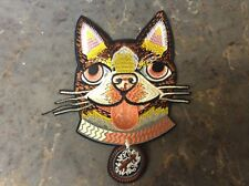 Embroidered Cat dog Patch Gucci iron on big