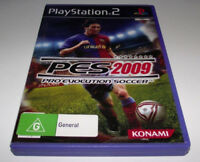 Pro Evolution Soccer 2009 PS2 PAL *Complete*