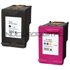 HP 300 NEGRO Y COLOR XL DESKJET F4275 F4280 F4283 F4288 FF4424 F4435 COMPATIBLE