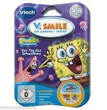 Vtech V.Smile Lernspiel Spongebob Schwammkopf der Tag Des Schwamms 5-8 Jahre NEU