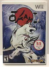 Okami for Nintendo Wii by Capcom NTSC Complete CIB