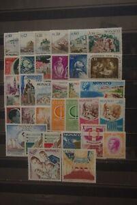 Timbres Neufs MONACO Année 1966 Compléte