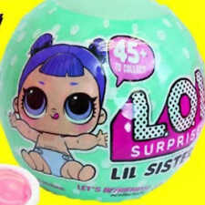 LOL Surprise Doll LIL Sisters Series 2 Large Authentic LOL BALL with 5 Surprises