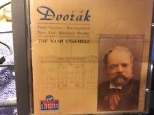 CD  DVORAK  PIANO QUINTET /PIANO TRIO  THE NASH ENSEMBLE
