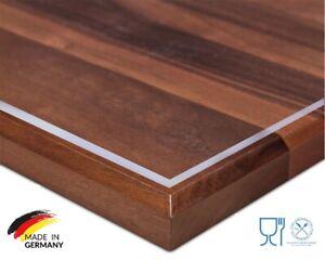 TransparentTischdecke Tischfolie Tischschutz Schutzfolie Tisch Folie  2,2-2.5mm