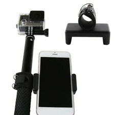 Phone Clip Adapter Mount Lock Holder for Monopod Selfie Stick GoPro Hero 5 4 3+