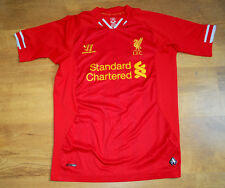 Warrior Liverpool 2012-2013 home shirt (Size XLB) (Height 158 cm)